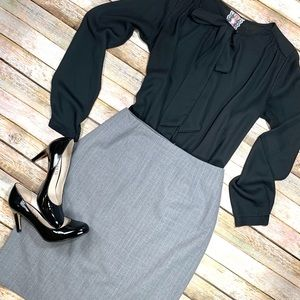 Caslon Gray Career Skirt Sz 4P